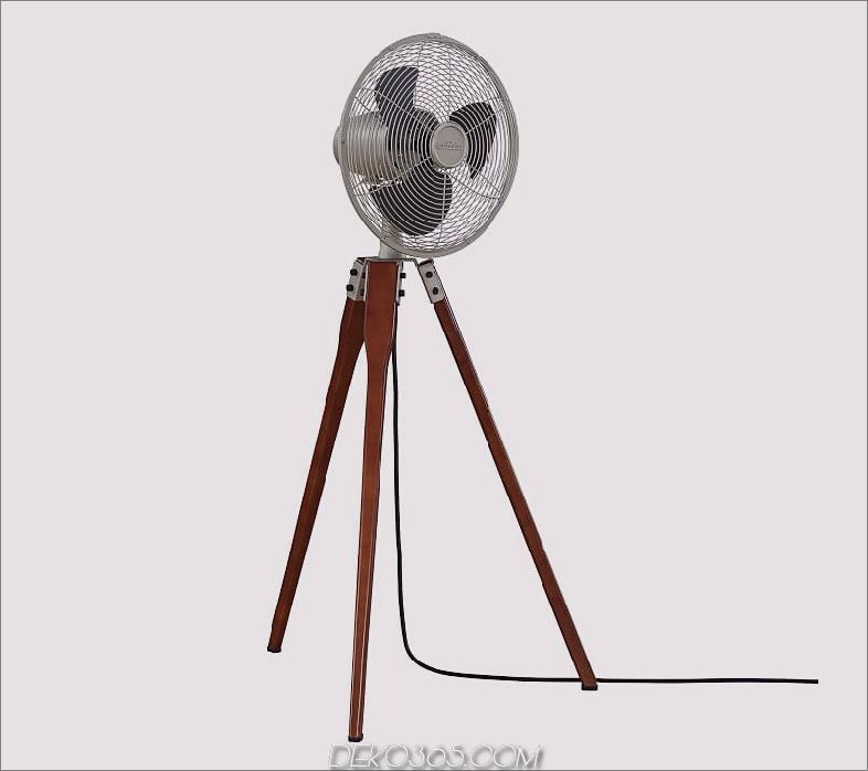 Holz-Stativ-Bodenventilator