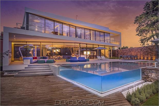 1 modernes mediterranes Haus thumb 630xauto 58071 Moderne mediterrane Villa mit kreativ einzigartigen Details