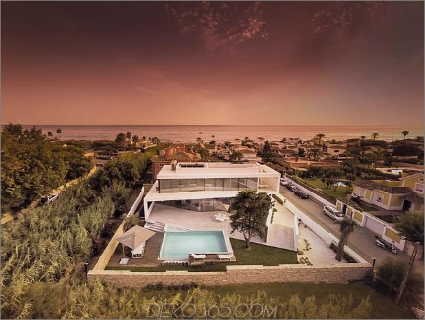 2 modernes mediterranes Haus thumb 630xauto 58073 Moderne mediterrane Villa mit kreativ einzigartigen Details
