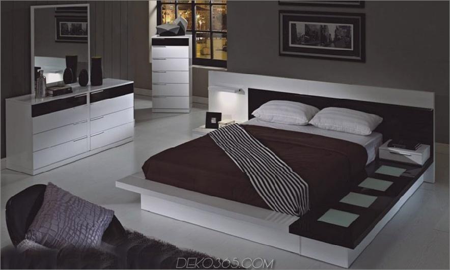 Moderne weiße Plattformbett 900x540 im Trend Moderne Möbel für Ihr Zuhause