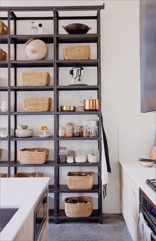 Offene Speisekammer Moderne Speisekammer-Ideen, die stilvoll und praktisch sind