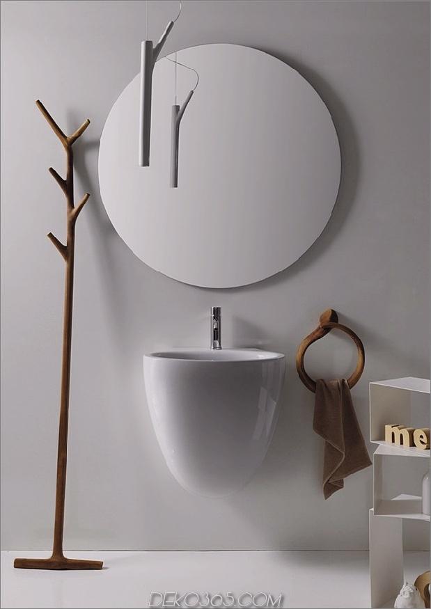 Moderne rustikale Badezimmermöbel ergo galassia bowl thumb 630x891 14627 Moderne rustikale Badezimmermöbel-Kollektion Ergo von Galassia