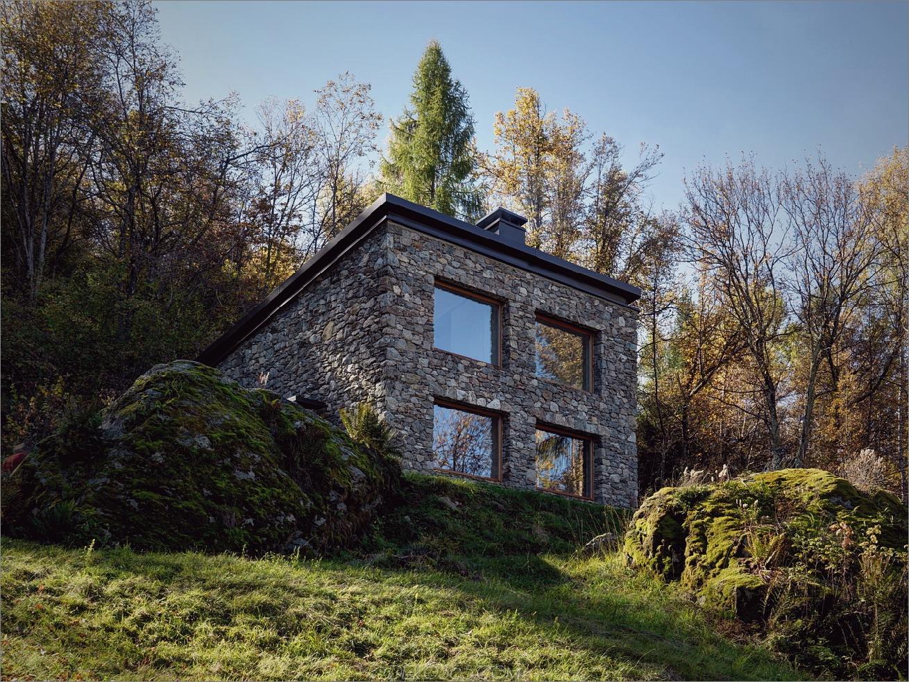 Moderne Steinhutte In Norditalien Ist Ein Romantisches Juwel Blog Deko365 Com
