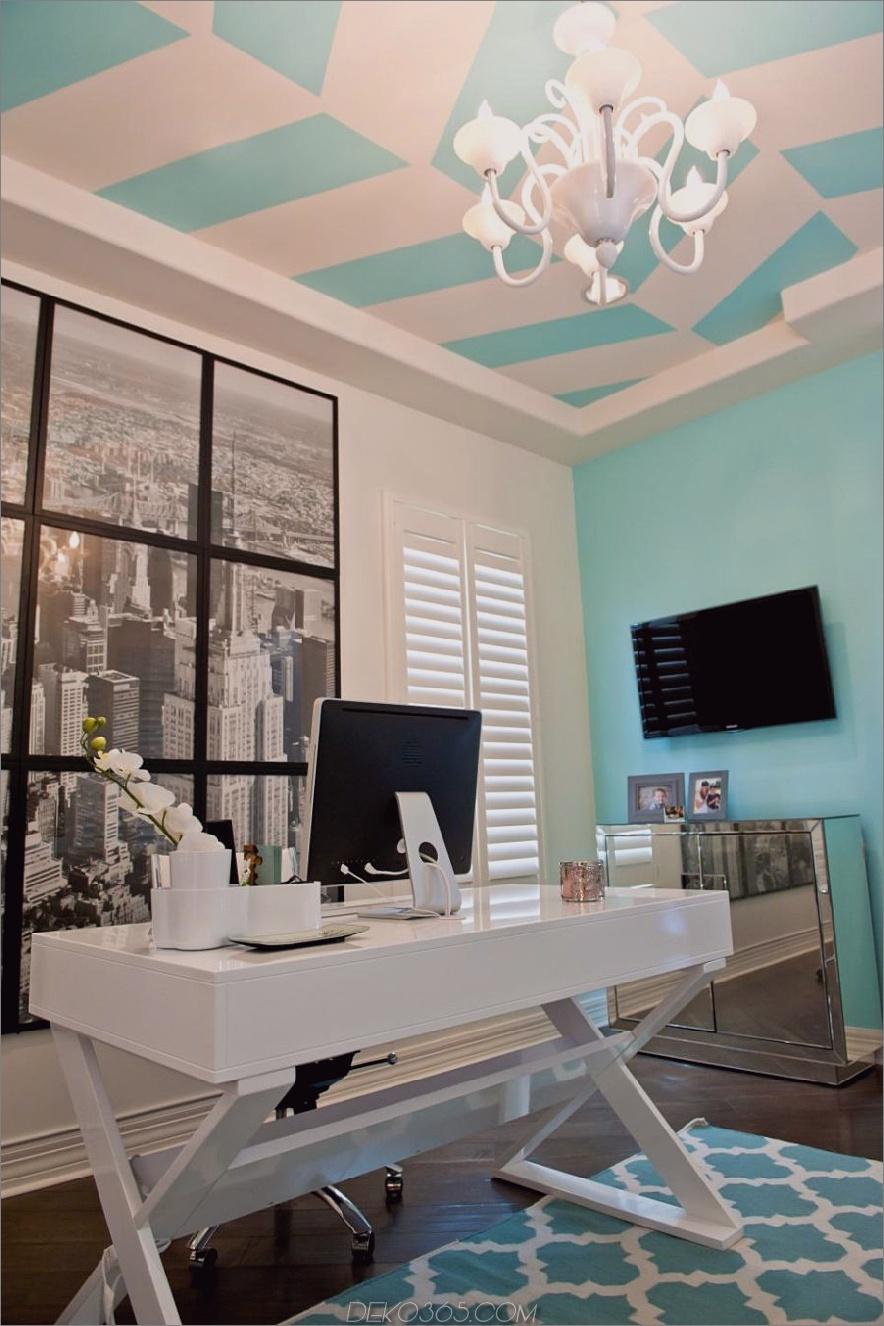 Andrea Bazilus Home Office mit einer fotografischen Wand