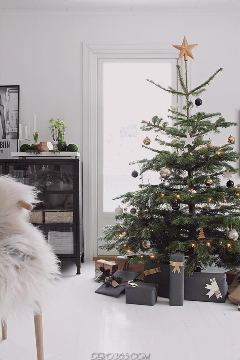 Stilvoller Weihnachtsbaum