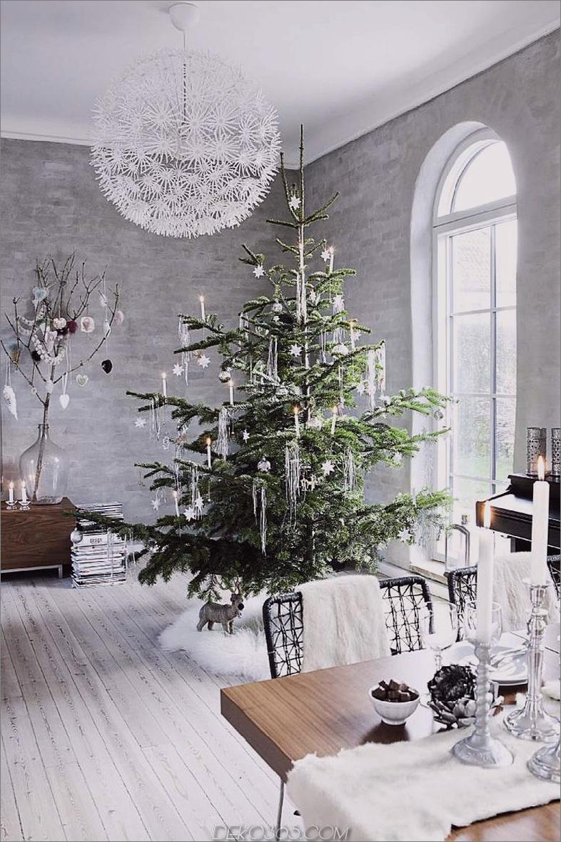 Natürlicher Weihnachtsbaumdekor