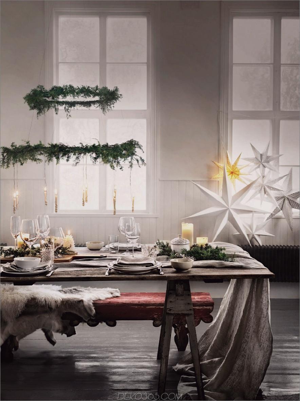 Grüne Weihnachten Deckenanhänger