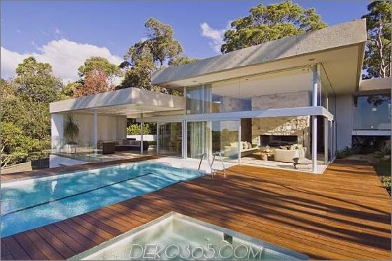 Walker House 2 Modern Luxury Retreat in Sydney, Australien Vorort Haus mit Meerblick