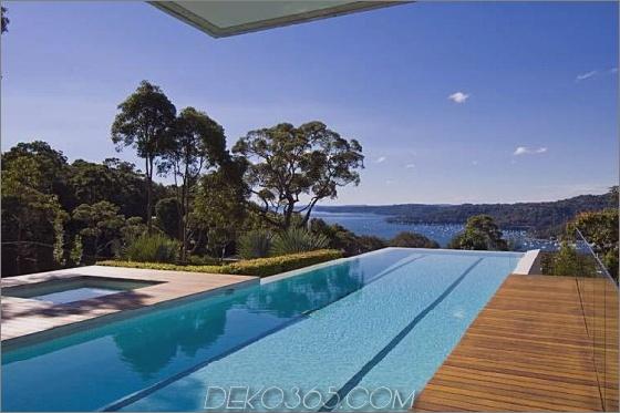 Walker House 13 Modern Luxury Retreat in Sydney, Australien Vorort Haus mit Meerblick
