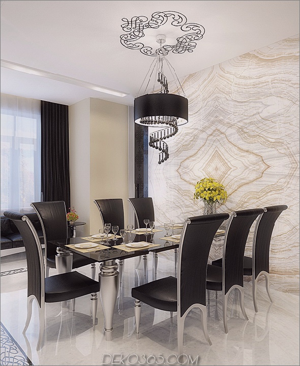 modernes Eigentumswohnungsdesign populäre Möbel 11 Modernes Eigentumswohnungsdesign gefüllt mit populären Möbeln