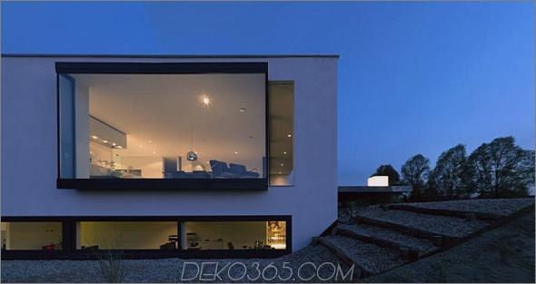 breda woonhuis 2 Modernes Custom House Design in den Niederlanden die Fenster!