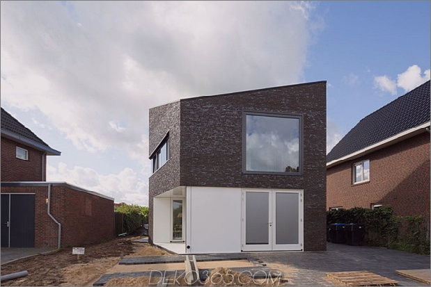 modernes Einfamilienhaus niederländische Tradition mit einem Twist 2 thumb 630x420 8974 Modernes Einfamilienhaus in den Niederlanden: Tradition mit einem Twist