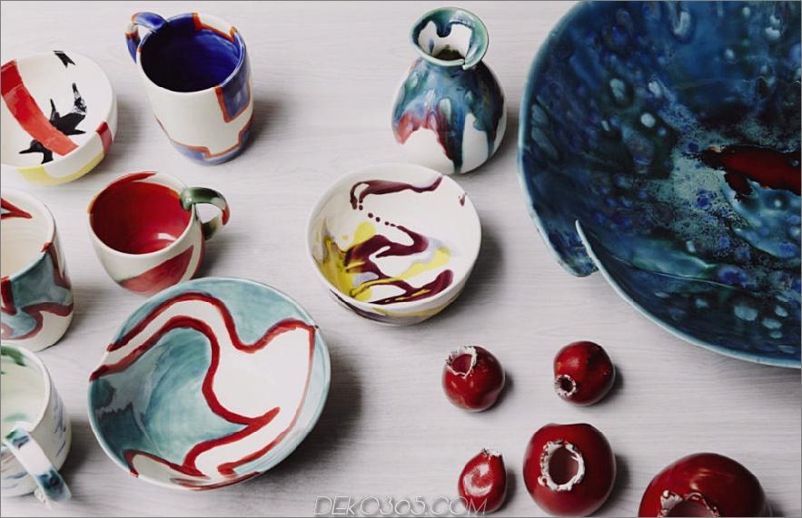 Keramik von Elnaz Nourizadeh