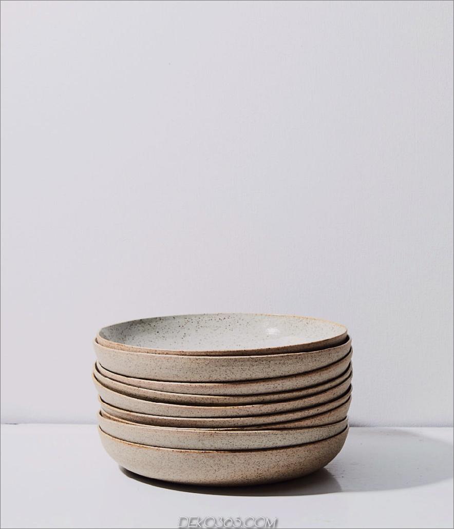 Steinzeug + Porzellan-Nudelschüssel