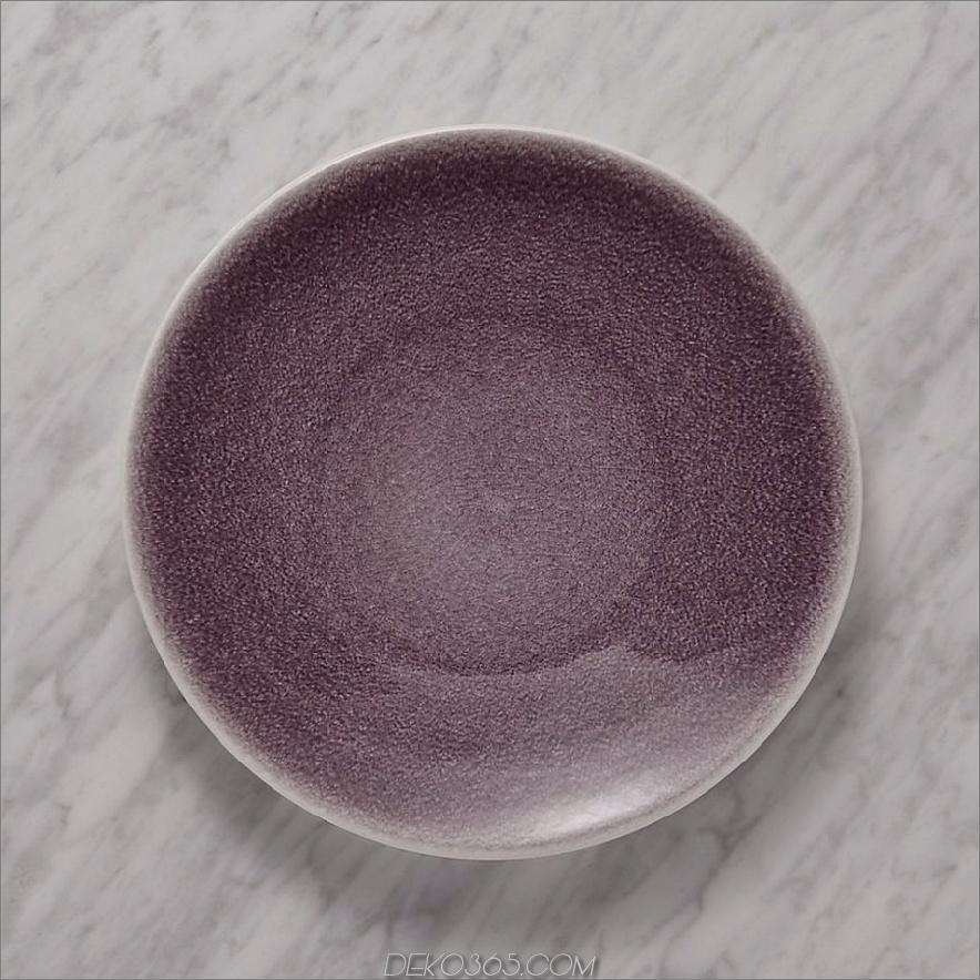Gläser Tourron Purple Dinner Plate