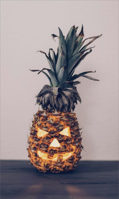 Ananas Jack o Laterne