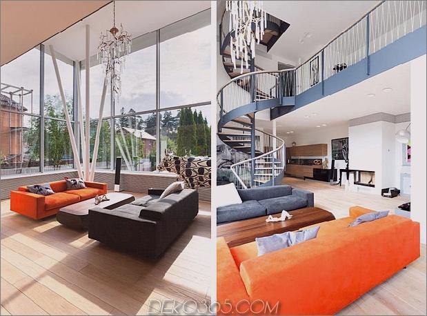 Haus im modernen Landhausstil mit gewölbten Zimmern im obersten Stockwerk-9-unteres Stockwerk.jpg