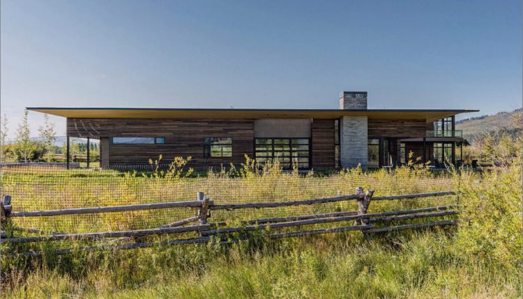 Modernes Haus in der Nähe von Wyoming Mountains profitiert von seiner Lage_5c58f5017975a.jpg