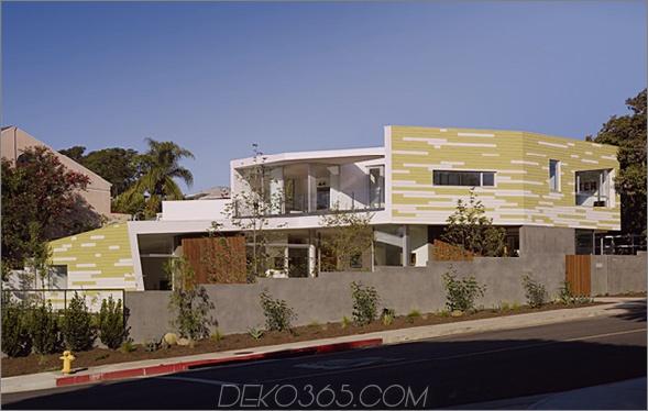 Königshaus 1 Modernes kalifornisches Haus in Santa Monica, inspiriert von Bäumen ...