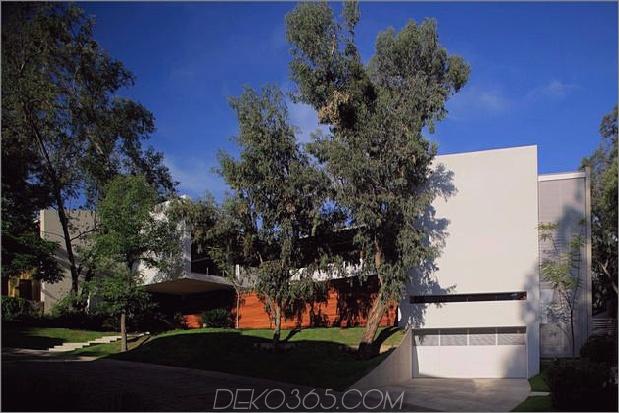 casa siete öffnet breite vordere hintere Fassade 2 Fassade thumb 630x420 26769 Moderne Betonvilla mit schönem Innenhof