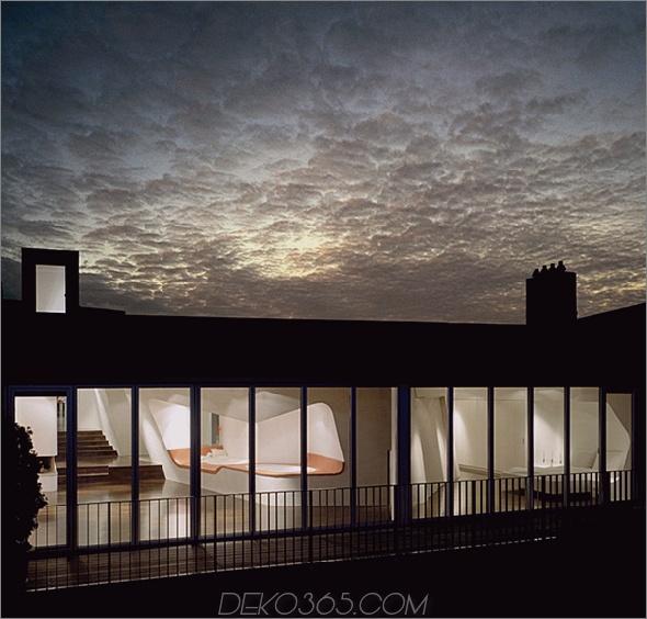 loft gleimstrasse 1 Modernes Loft Design Dachloft in Berlin bietet offenes Konzept für Offenes