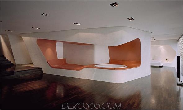 loft gleimstrasse 5 Modernes Loft Design Dachloft in Berlin bietet offenes Konzept für Offenes