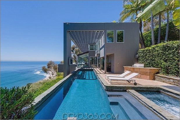 malibu beach house ocean side thumb 630xauto 58330 Modernes Malibu Beach House: Zimmer mit Aussicht