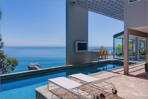 malibu beach house ocean side 2 thumb 630xauto 58332 Modernes Malibu Beach House: Zimmer mit Aussicht