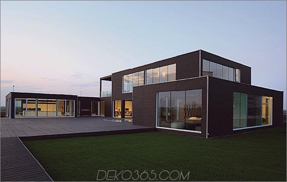 planit 1 Modernes vorgefertigtes Zuhause präsentiert hochwertige Möbel von B & B Italia!