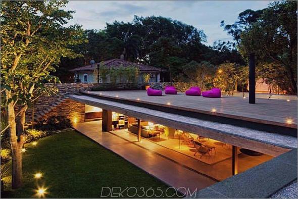 modernes wallless-Haus in Brasilien 1 Modernes wallless-Haus in Brasilien: Einfacheres Stilgefühl