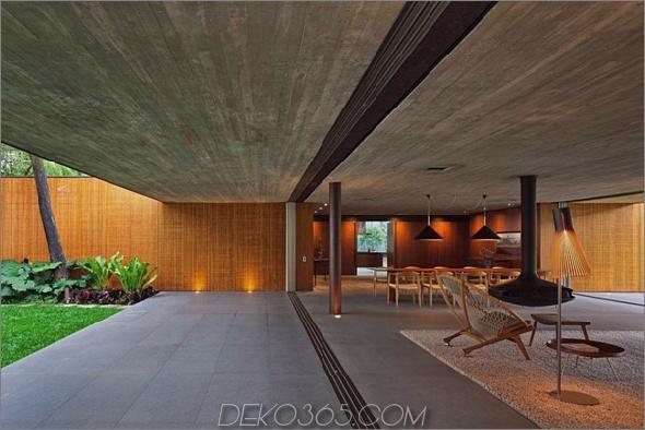modernes wallless-Haus in Brasilien 2 Modernes wallless-Haus in Brasilien: Einfacheres Stilgefühl
