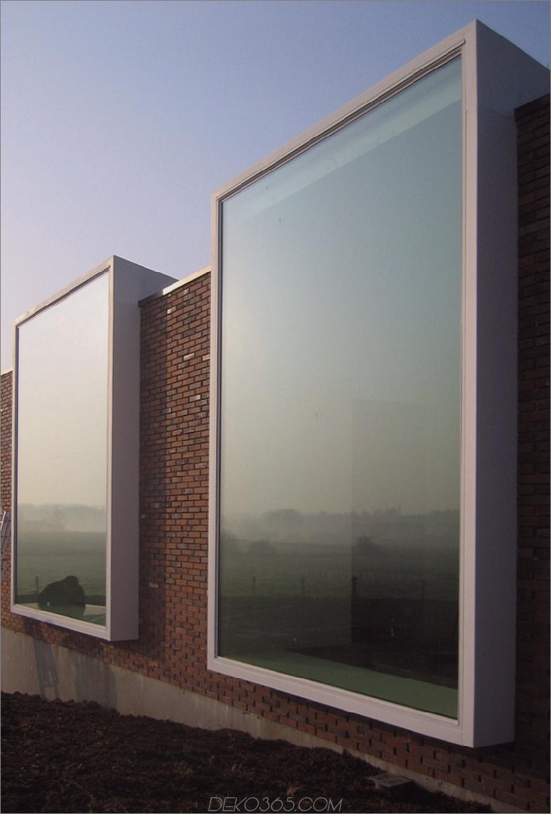 Notariaat von Atelier Vens Vanbelle Moderne Fenster, die Ihnen die ganze Welt zeigen