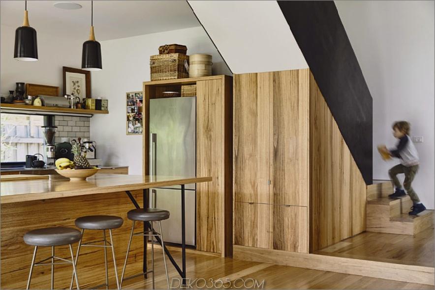 Küche komplett aus Holz gefertigt