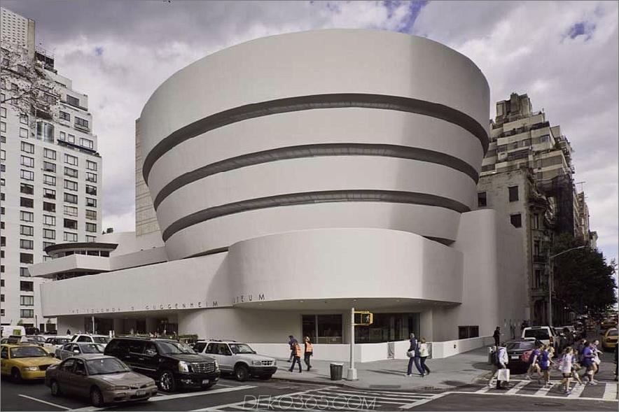 Guggenheim Museum in New York 900x599 Modernistische Architektur: 30 atemberaubende Beispiele