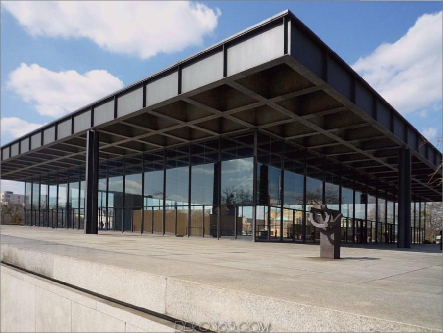 Neue Nationalgalerie in Berlin 900x675 Modernistische Architektur: 30 atemberaubende Beispiele