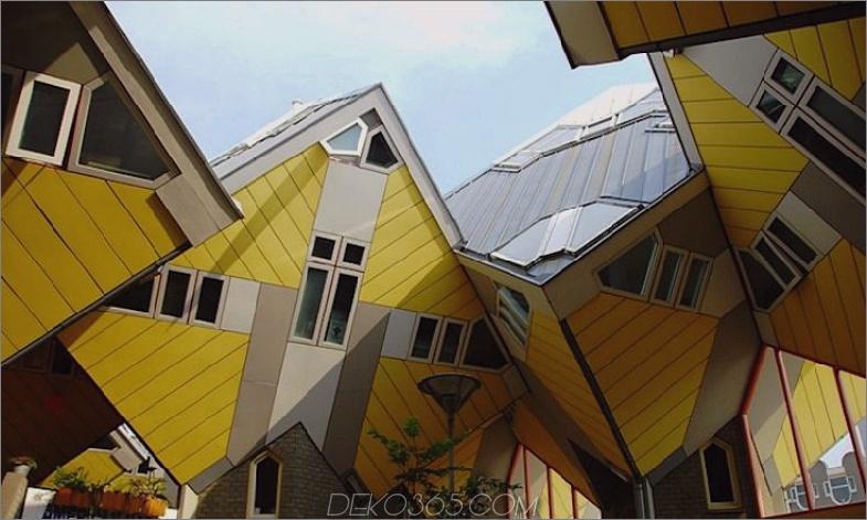 Kubikhäuser in Rotterdam die Niederlande