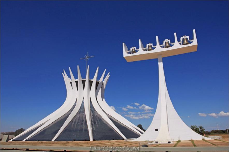 Kathedrale von Brasilien in Brasilien