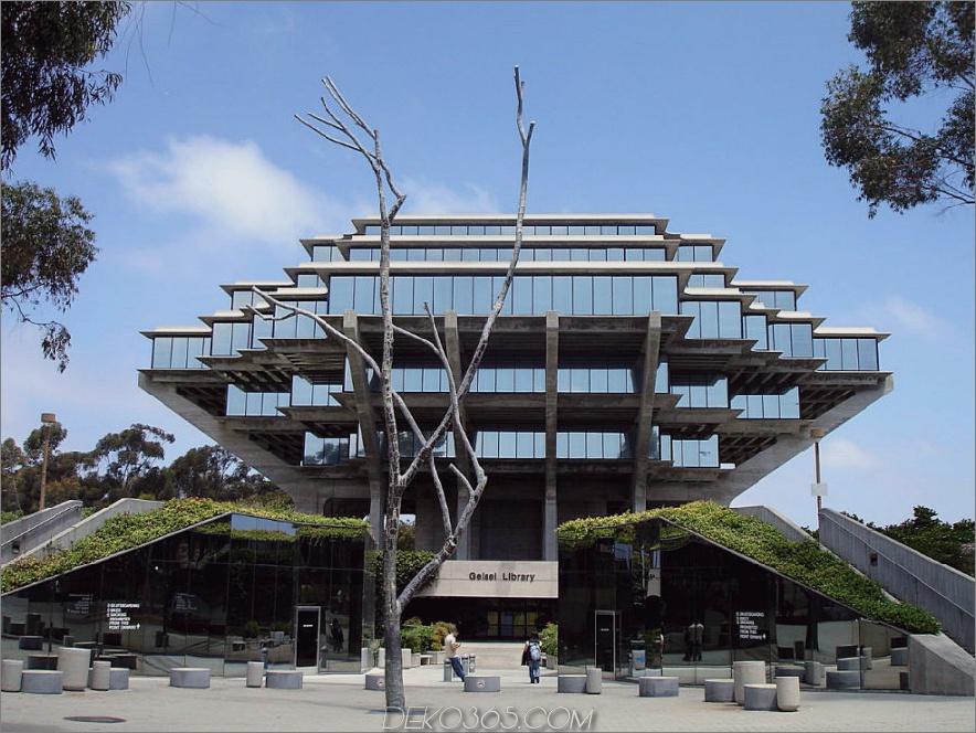 Geisel-Bibliothek in La Jolla, Kalifornien