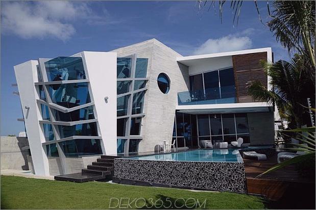 Modernistisches mexikanisches Haus mit abstrakter Form und aufregender Beleuchtung 2 thumb 630x419 13392 Modernistisches mexikanisches Haus mit abstrakter Form und aufregender Beleuchtung
