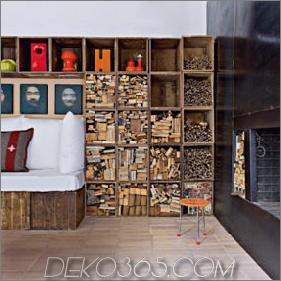 Holzkisten für modulare Möbel und Interior Design