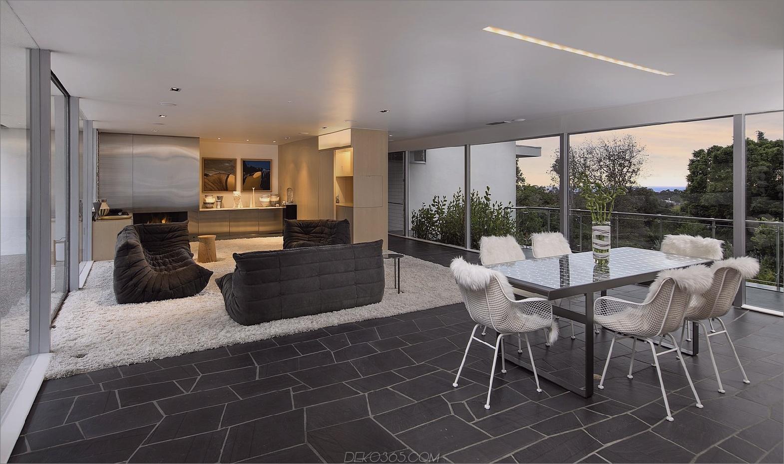 Teppich im offenen Grundriss Möglichkeiten zum Dekorieren eines offenen Grundrisses, ohne den Raum zu überfüllen