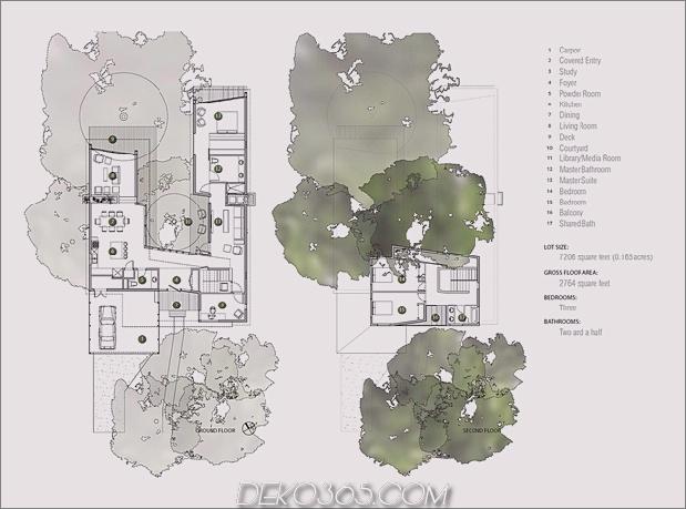 Mutiges und modernes U-förmiges Hofhaus, entworfen um Bäume_5c58f59b548ff.jpg