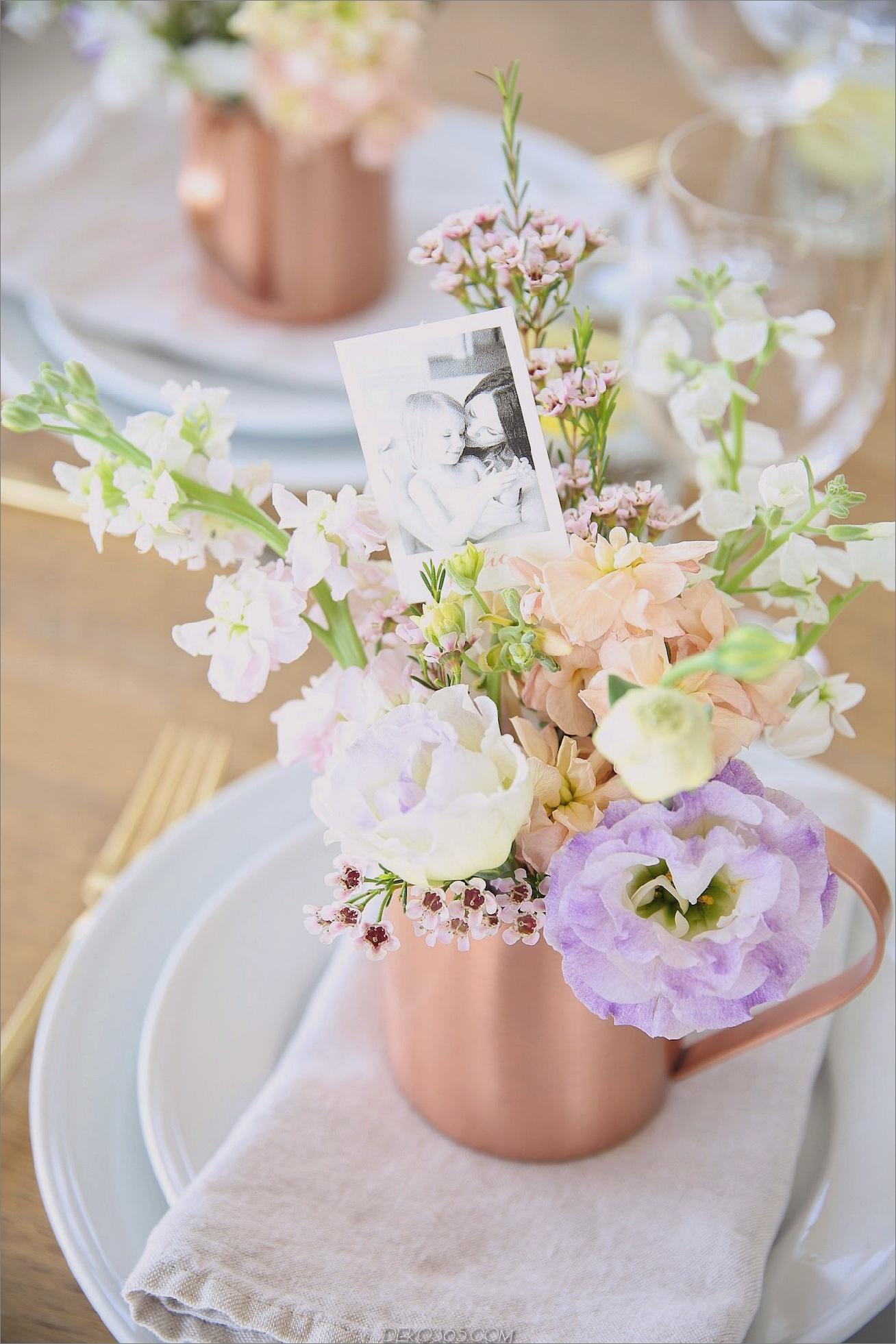 Floral Muttertisch Tisch Muttertag Tisch Dekor Inspiration