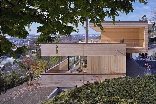 Nachhaltiges geometrisches Haus Dachterrasse 1 Äußeres thumb 630xauto 33612 Nachhaltiges geometrisches Haus mit Dachterrasse