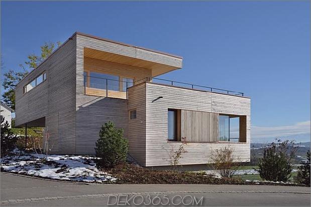 Nachhaltiges geometrisches Haus Dachterrasse 2 Blick auf die Straße thumb 630xauto 33614 Nachhaltiges geometrisches Haus mit Dachterrasse