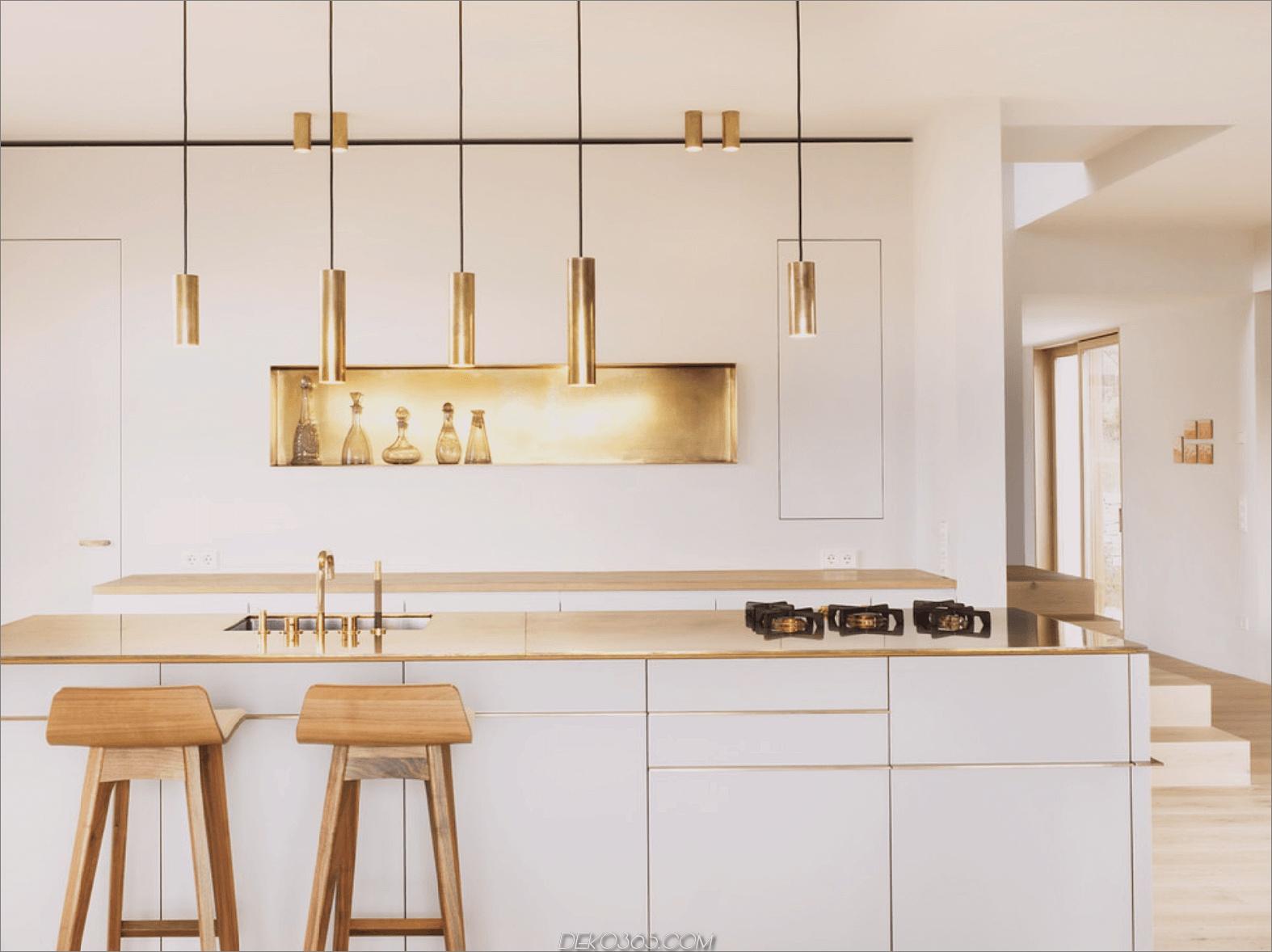 Metallische Küche Neue Trends im Bereich der Dekoration, die 2018 einen Versuch wert sind