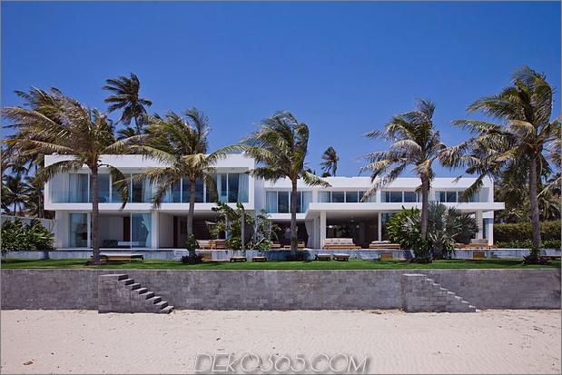 Drei Strandvillen Infinity-Pools Zugang zum Strand 2 Direkt am Strand 630xauto 48140 Oceanique Villas: Infinity-Pools und Sandstrände
