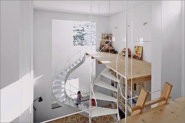 Offener vertikaler Hausplan mit Lofts und Plattformen thumb 630x419 30058 Offener vertikaler Hausplan mit Lofts und Plattformen