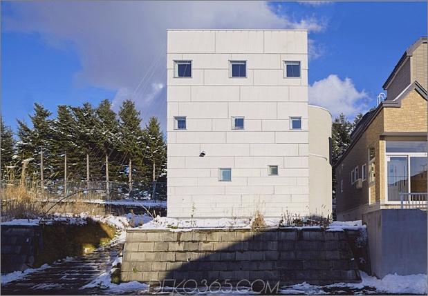 Offener vertikaler Hausplan mit Lofts und Plattformen 1 thumb 630x436 30060 Offener vertikaler Hausplan mit Lofts und Plattformen