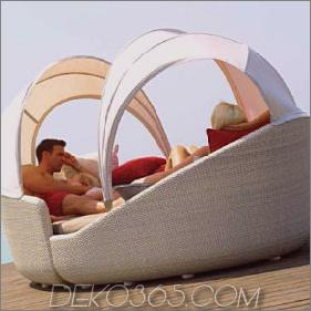 Contemporary Outdoor Furniture by Gloster - die Outdoor-Kollektion von Eclipse: ein intimer und privater Raum